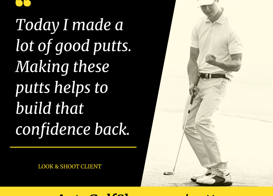 Confidence and the putting game